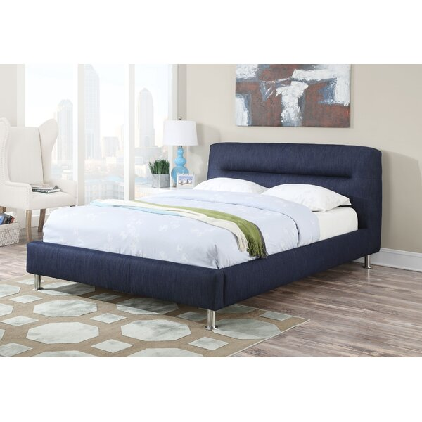 Reginia Upholstered Standard Bed by Latitude Run