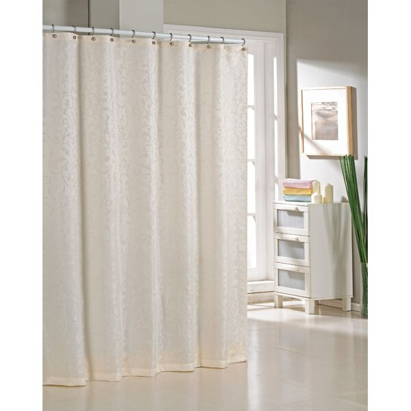 Blarwood Jacquard Shower Curtain by Alcott Hill