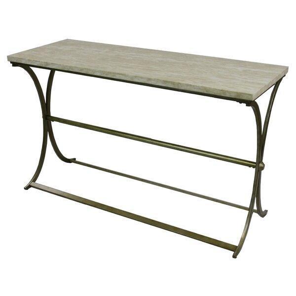 Fleur De Lis Living Gray Console Tables