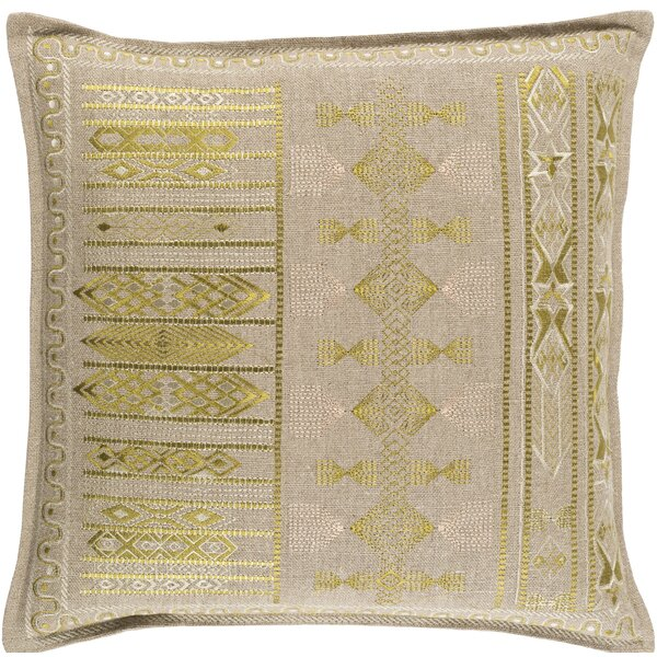 Amethyst Throw Pillow by Bloomsbury Market
