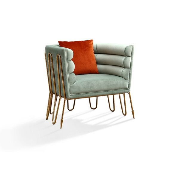 Jeri Lounge Chair by Everly Quinn