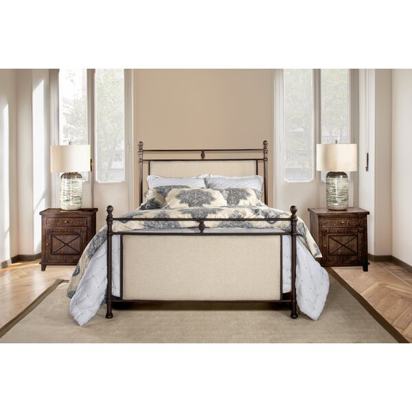 Colley-Critchlow Upholstered Standard Bed by August Grove