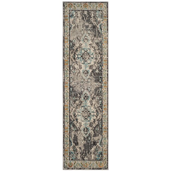 Annabel Grey & Silver Area Rug by Bungalow Rose