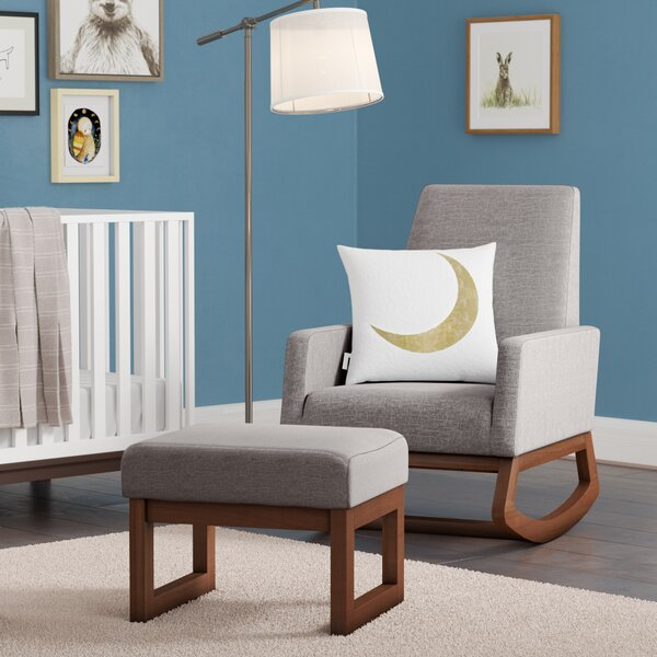 Nola Rocking Chair & Ottoman