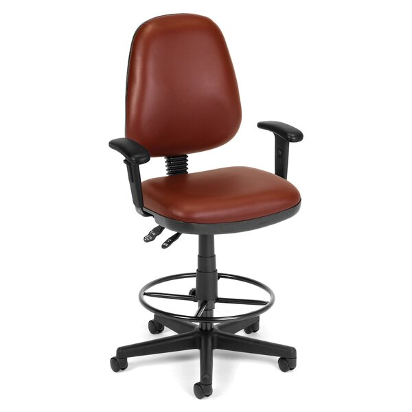 Mid-Back Drafting Chair by OFM