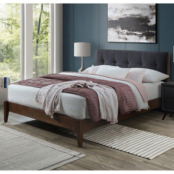Laylah Dickens Queen Upholstered Platform Bed by Brayden Studio
