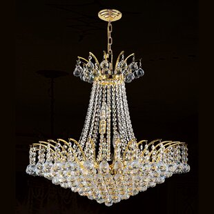 Reviews Carson 11-Light Chandelier By House of Hampton