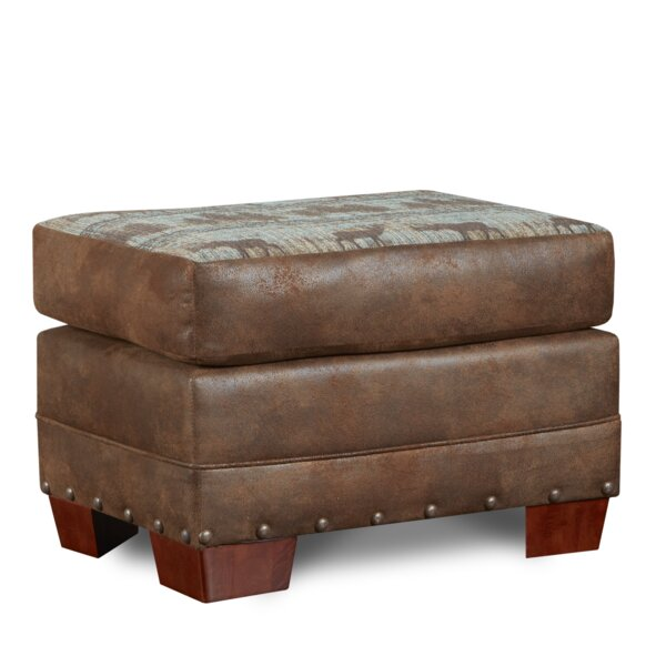 Deer Lodge Ottoman by American Furniture Classics