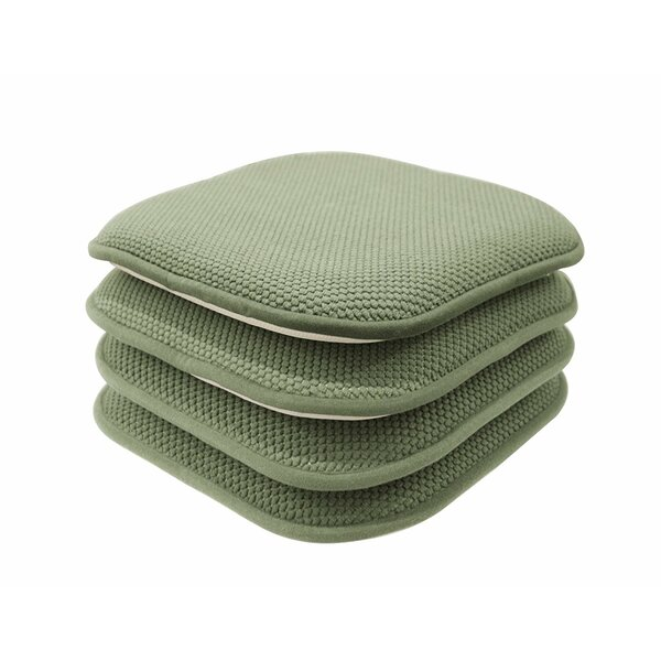 Indoor/Outdoor Dining Chair Cushion (Set of 4) by Charlton Home