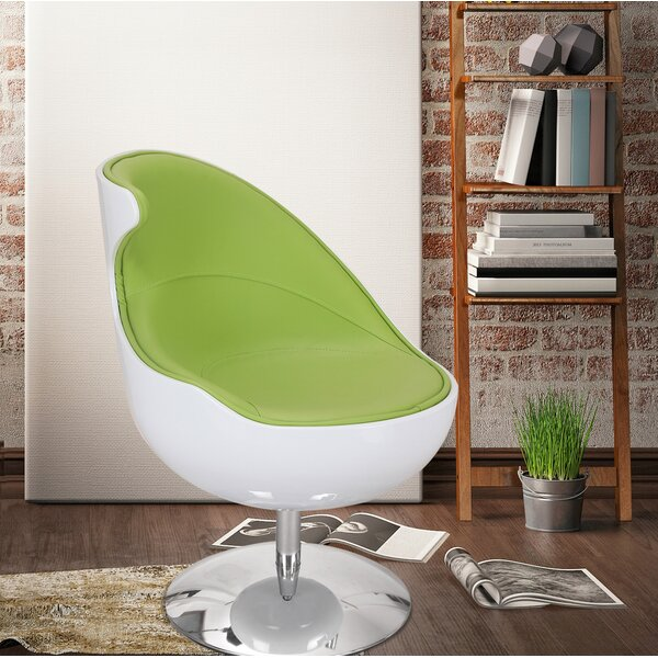 Swivel Lounge Chair by Adeco Trading