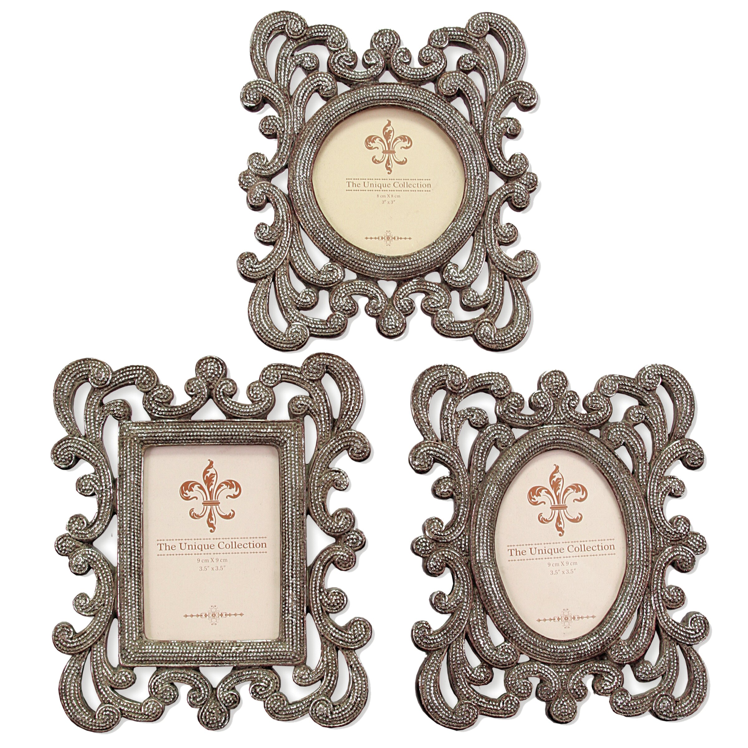 Selectives Anna 3 Piece Picture Frame Set | Wayfair