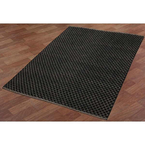 Synthia Hand-Woven Black Area Rug by Laurel Foundry Modern Farmhouse