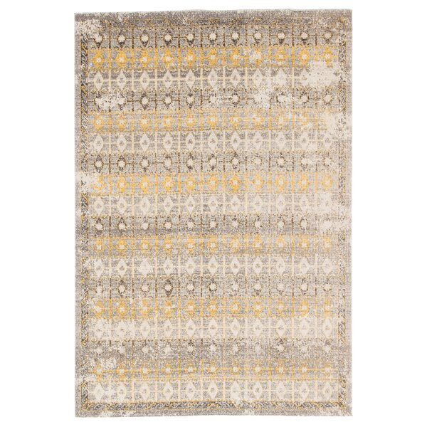 Dooley Trellis Brown/Beige Indoor/Outdoor Area Rug by Bungalow Rose