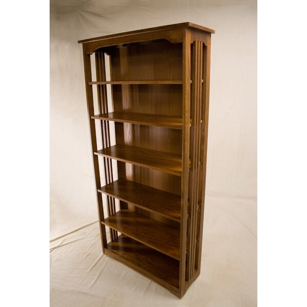 Jagger 3 Shelf Spindle Standard Bookcase By Loon Peak®