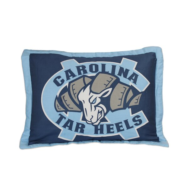 NCAA North Carolina Sham by College Covers