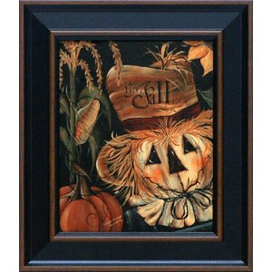 It's Fall by Michele Musser Framed Graphic Art by Artistic Reflections