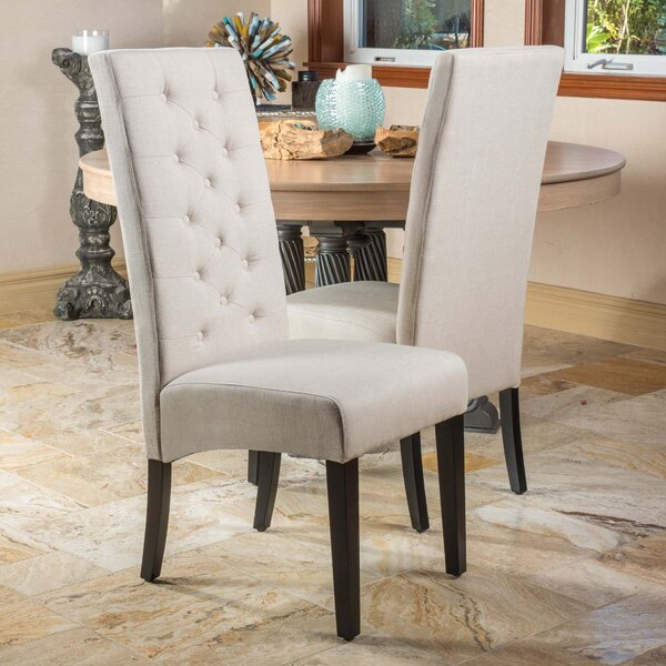Lemaire Upholstered Dining Chair (Set of 2) by Charlton Home