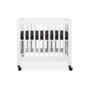 Tuxedo Monochrome Cross Mini Fitted Crib Sheet