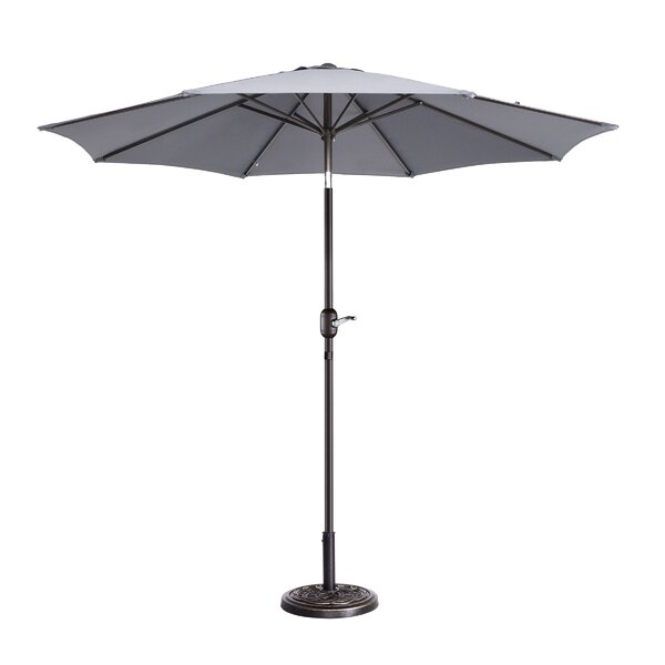 Coalville Manual Tilt  Market Umbrella by Freeport Park