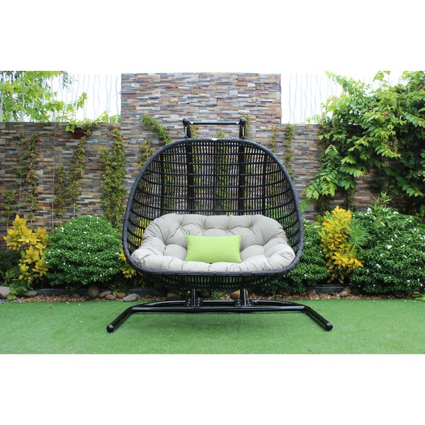Esquivel Outdoor Swing Chair by Bayou Breeze Bayou Breeze