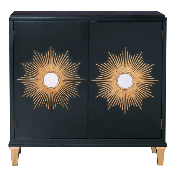 Woodhouse Sunburst 2 Door Accent Cabinet by Mercer41 Mercer41