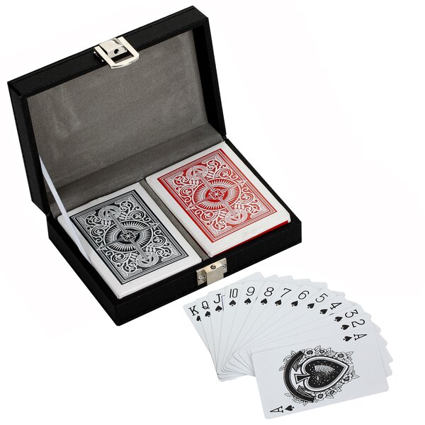 Monte Carlo Dual Deck Standard Playing Card with Case View Parent by Hathaway Games
