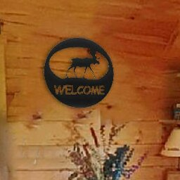 Moose Welcome Circle Wall Décor by 7055 Inc