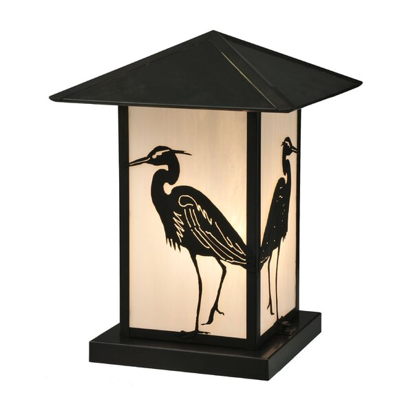 Seneca Heron 1-Light Pier Mount Light by Meyda Tiffany