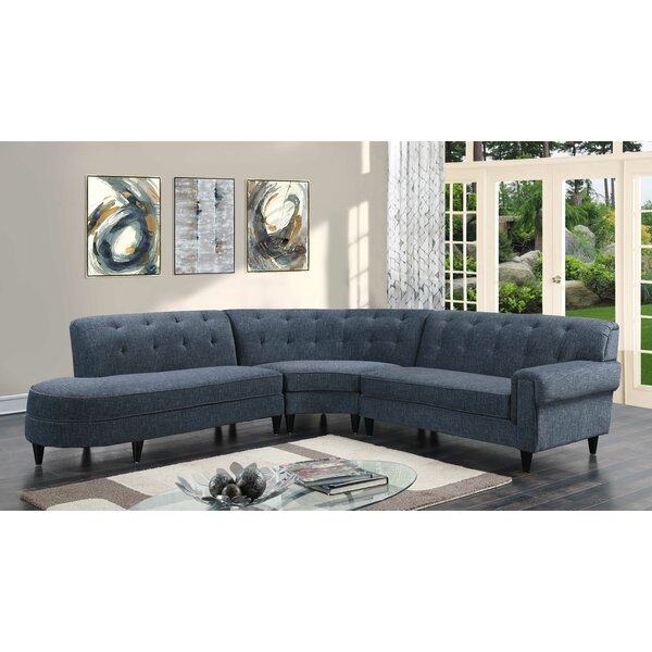 Brienne Left Hand Facing Sectional by Modern Rustic Interiors