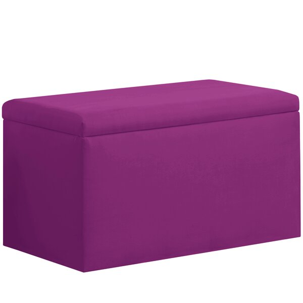 Shires Upholstered Storage Bench by Latitude Run