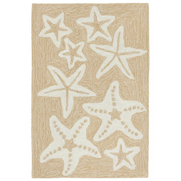 Claycomb Hand-Tufted Neutral Indoor/Outdoor Area Rug by Highland Dunes