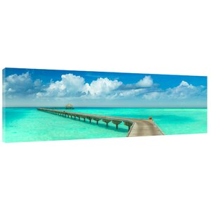 'Paradise Walk' Photographic Print on Wrapped Canvas by Latitude Run