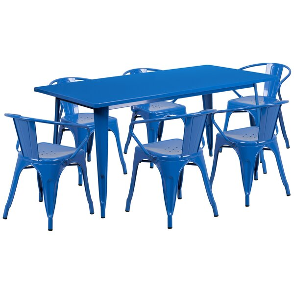 Fuad 7 Piece Dining Set by 17 Stories 17 Stories