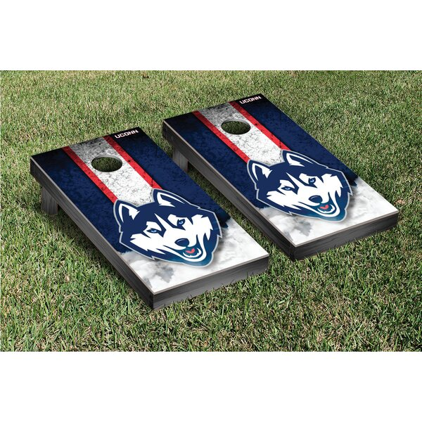 NCAA Grunge Version Cornhole Game Set by Victory Tailgate