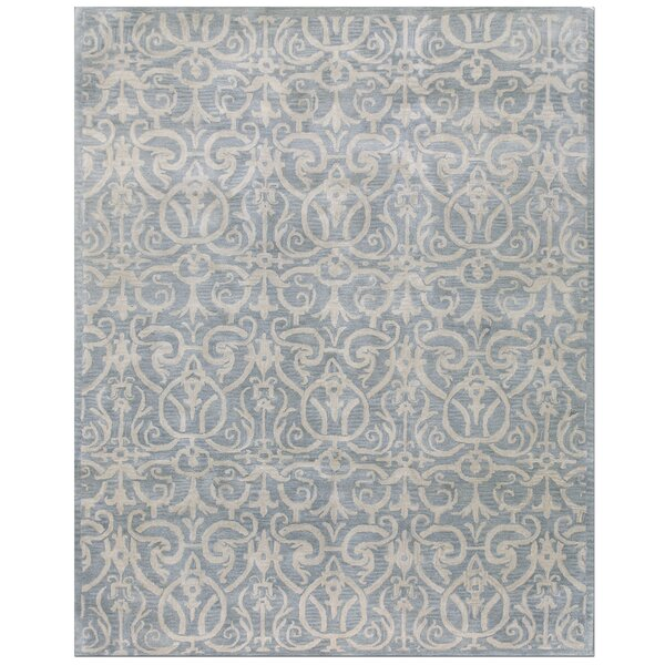 Rajput Light Blue Archaic Area Rug by Bashian Rugs