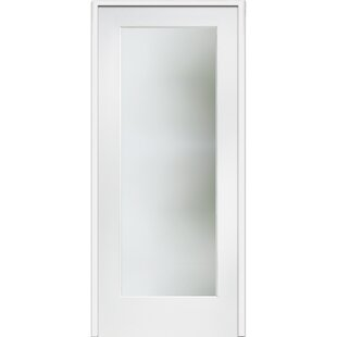 Satin Etched MDF Frosted Glass Prehung French Doors