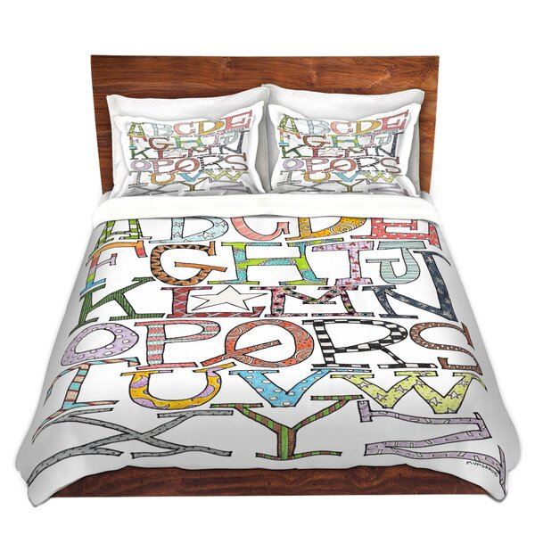Starbrite Alphabet Duvet Cover Set