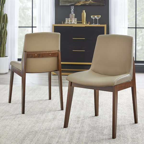 Buharkent Upholstered Dining Chair (Set Of 2) By Ebern Designs