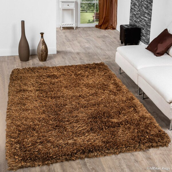 Handmade Brown Area Rug by AllStar Rugs