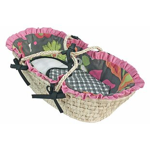 Purchase Sleek Slate Moses Doll Basket ByHoohobbers