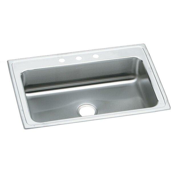 Lustertone 33 L x 22 W Drop-In Kitchen Sink