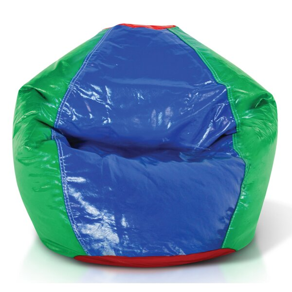 Vinyl Bean Bag Chair by Zoomie Kids