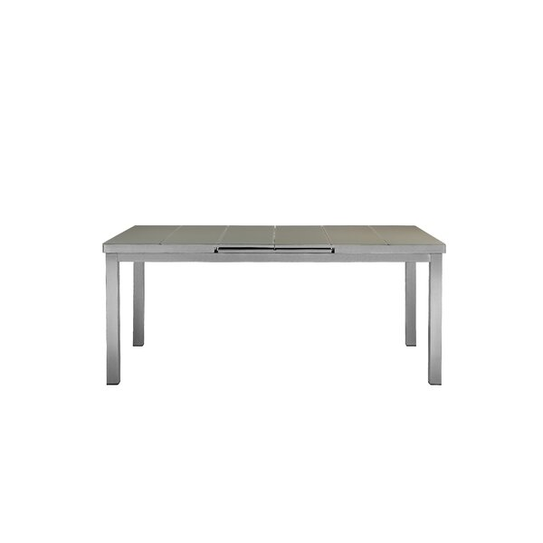 Bella Glass Dining Table By Orren Ellis