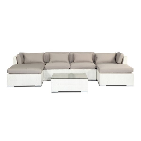 Napali 7 Piece Sectional Set with Cushions by Kardiel