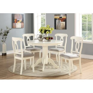 White Kitchen Dining Room Sets Youll Love Wayfair - Wayfair white table and chairs