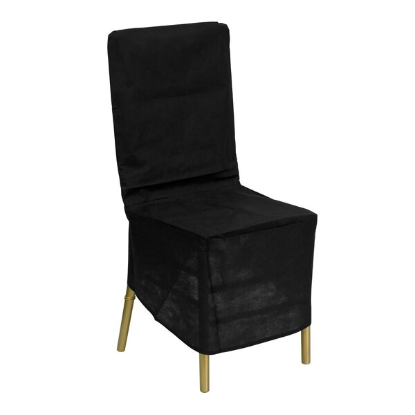 Fabric Chiavari Chair Storage Cover in Black by Flash Furniture