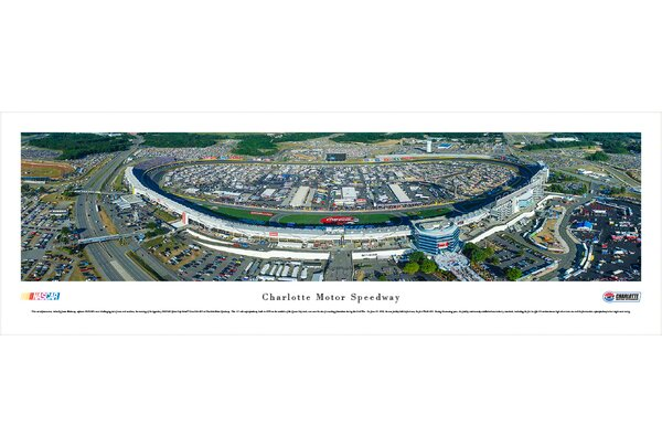 NASCAR Charlotte Motor Speedway by James Blakeway Photographic Print by Blakeway Worldwide Panoramas, Inc