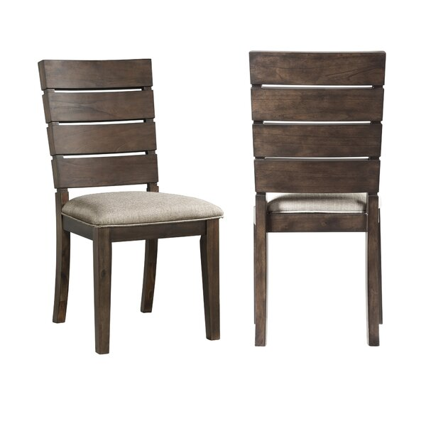 Burkhart Upholstered Dining Chair (Set of 2) by Gracie Oaks