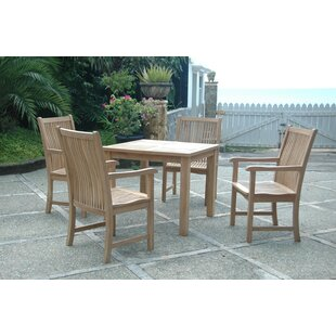 Brianna 5 Piece Teak Dining Set By Anderson Teak