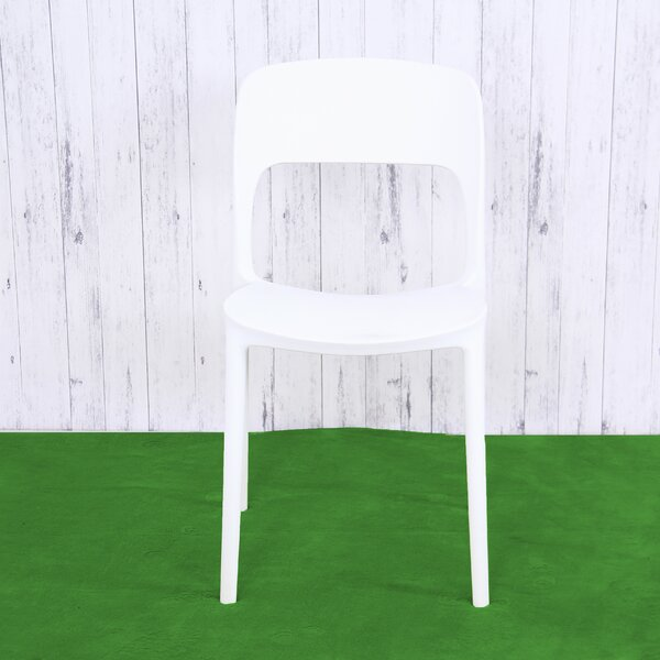 Terri Plastic Dining Chair (Set of 4) by Ebern Designs